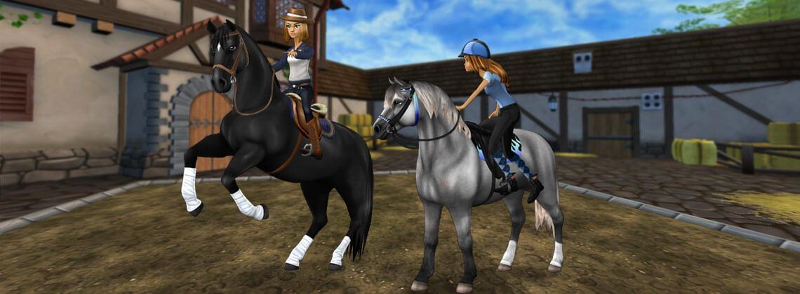 Pars à l'aventure à dos de cheval !