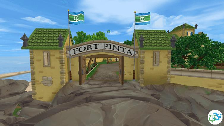 Entrée du Fort Pinta