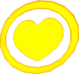 Coeur dans un cercle